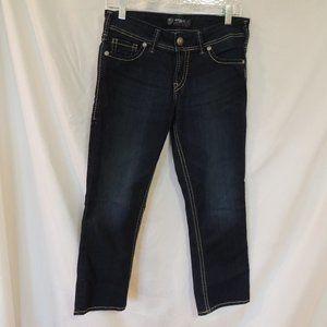 Silver Jeans Suki capris womens size 29